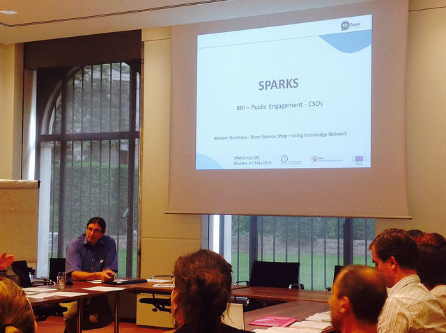 Sparks European project kick-off meeting
